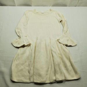 Baby Gap Knit Dress Off-white Size 5